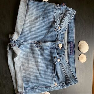 Rock and Republic Striped Denim Jeans